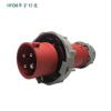 厂家直销冷藏集装箱专用插头32A 4P 400V红色快速插头