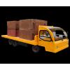 5米长电动平板搬运货车
